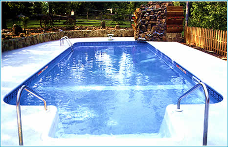 Pool kits do it yourself polymer and fiberglass to build your own new swimming pool in Florida.