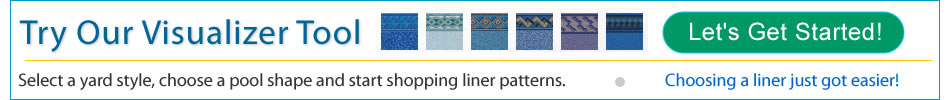 Sarasota and Tarpon Springs FL best vinyl liners for pools.